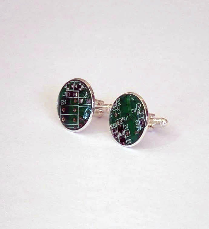 Wearable Technology Cufflinks