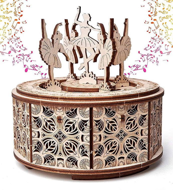 Dancing Ballerinas Music Box