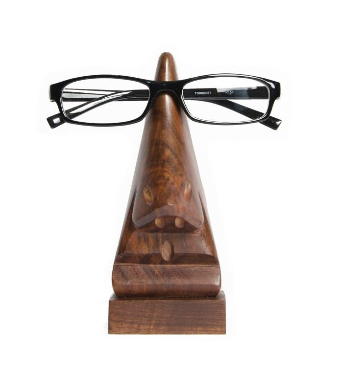 Handmade Rosewood Eyeglass Holder