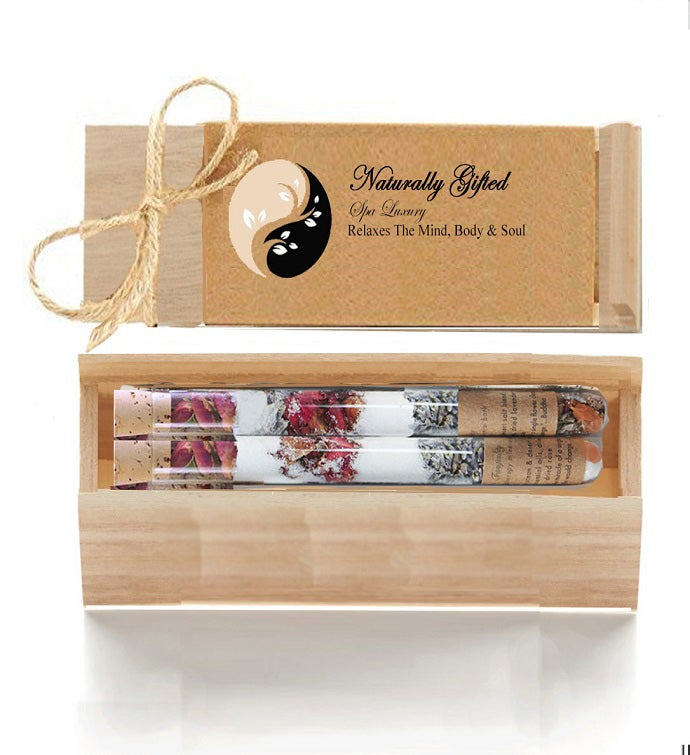 Luxury Spa Salt Tubes Gift Set