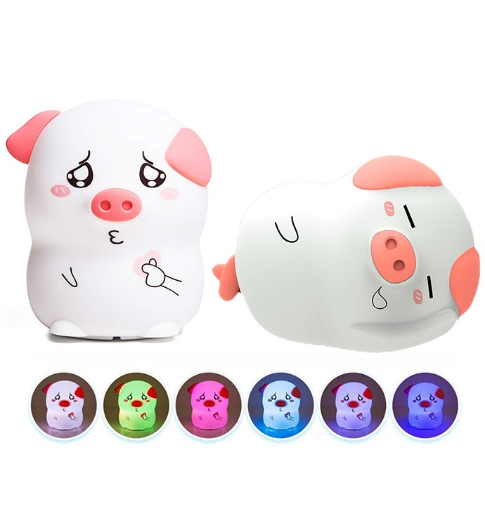 2 Piece Silicone Night Light
