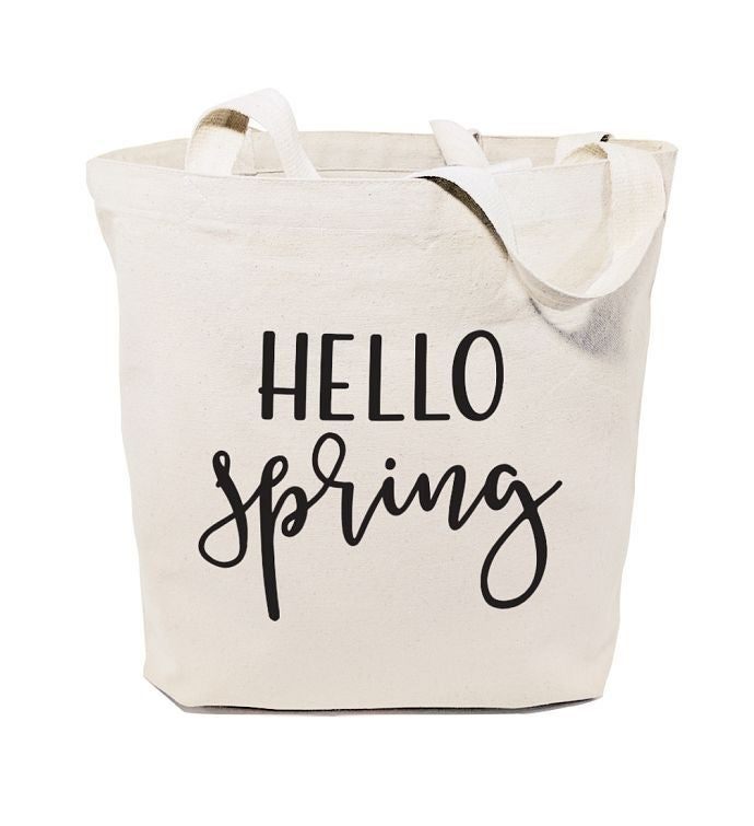 Hello Season Reusable Shoulder Tote