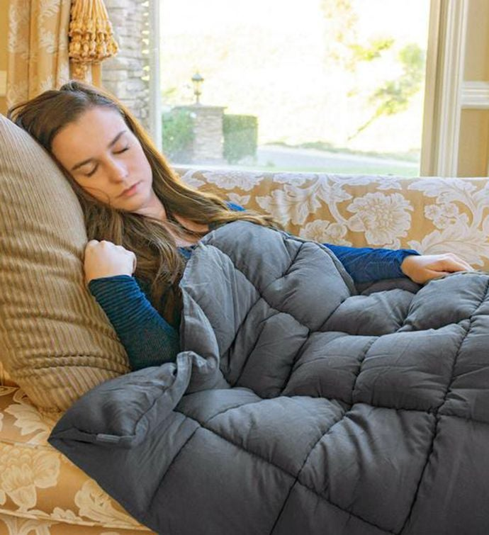Soothing Micro Plush Weighted Blanket
