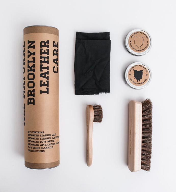 Tubular Leather Care Kit