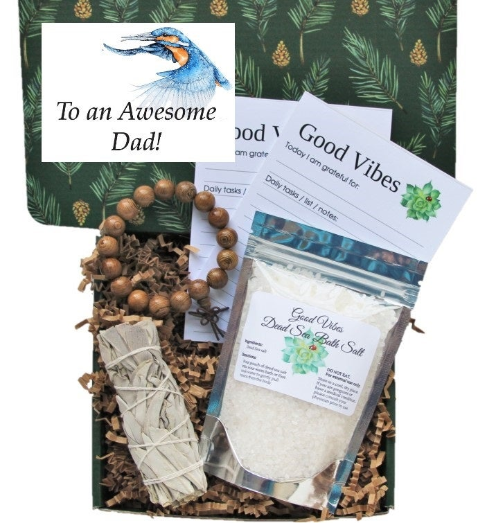 Awesome Dad Good Vibes Gift Box