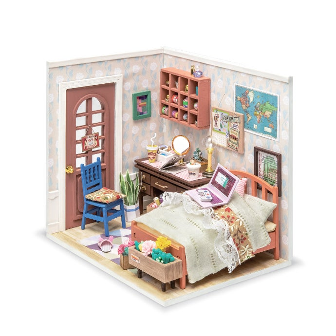 Anne39s Bedroom DIY Miniature Dollhouse