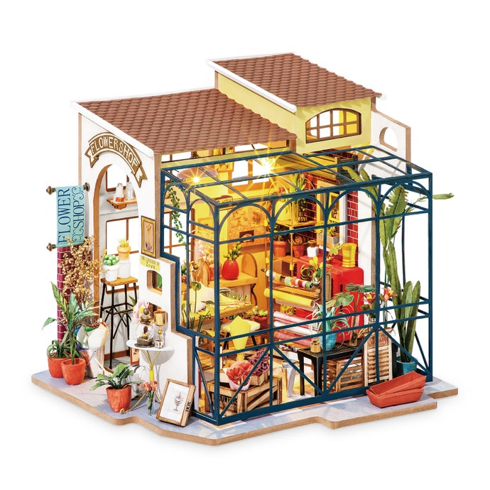 Emily39s Flower Shop DIY Miniature Dollhouse