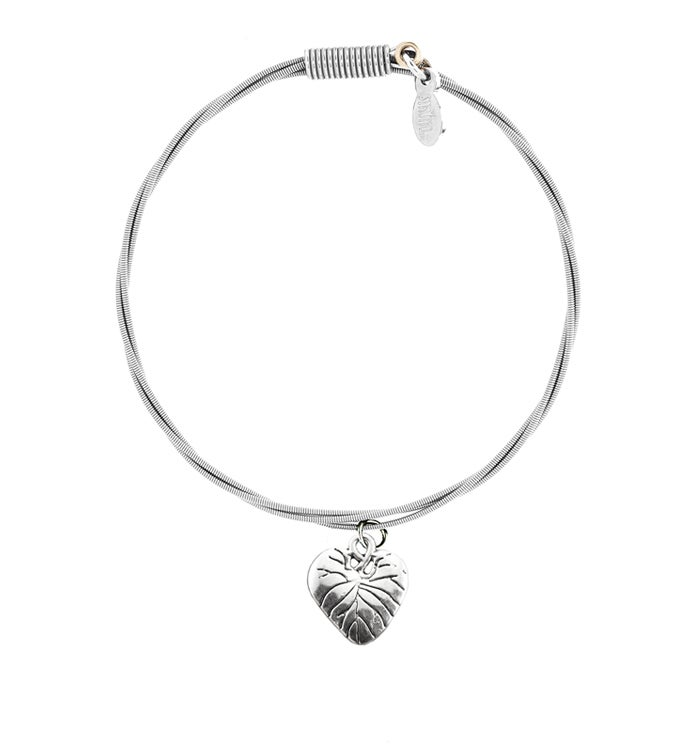 34Piece of My Heart34 - Guitar String Bracelet