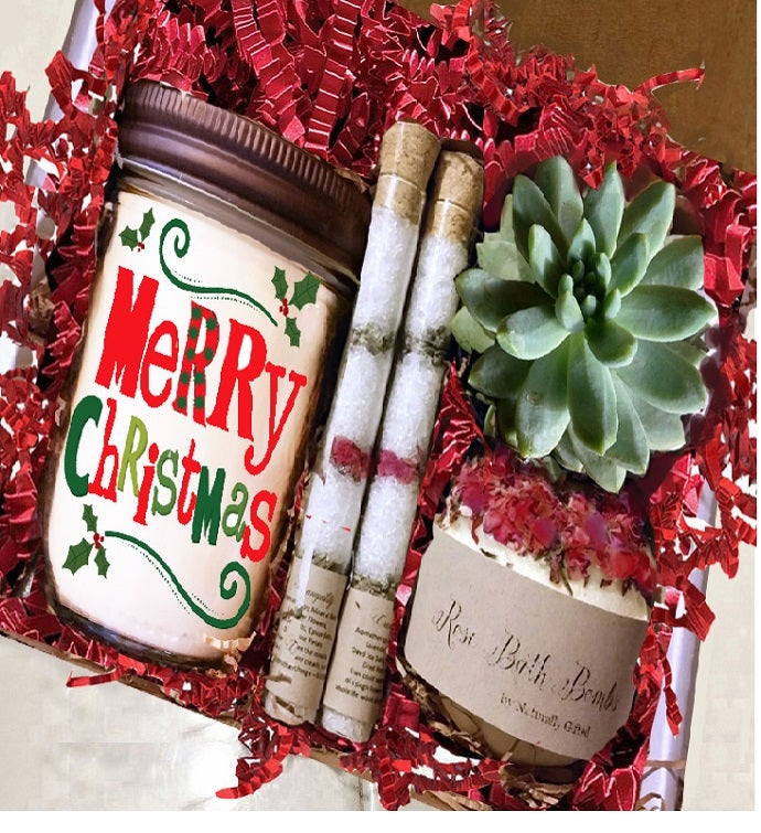 Beary Christmas Spa Gift Set