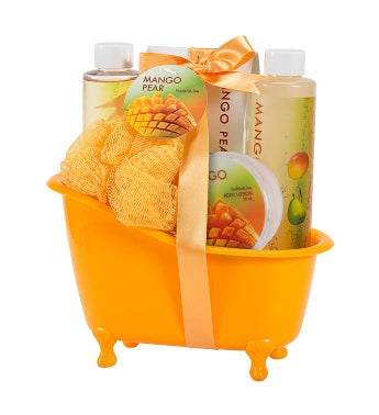 Mango Pear Spa Gift Set Tub