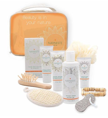 f59d70ae22cb0 Namaste Home Spa Gift Set - Grapefruit 11 piece