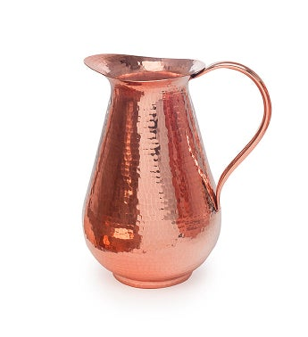 Bisotun Water Pitcher With Copper Handle