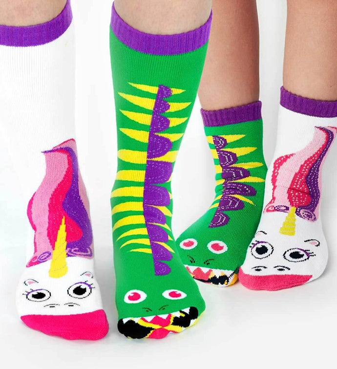 Dragon  Unicorn  Adult  Kid Socks
