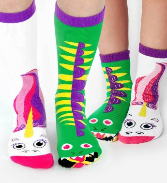 Dragon  Unicorn  Adult  Kid 1-3 Socks