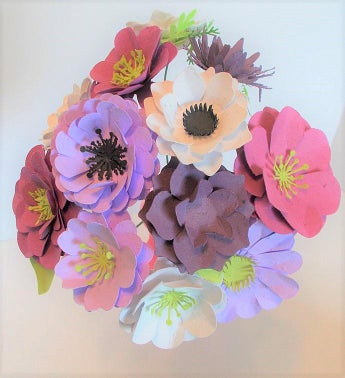 Seeded Paper Flower Bouquet