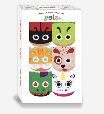 Lil Besties Sock Gift Box  Infants 6-12 Months