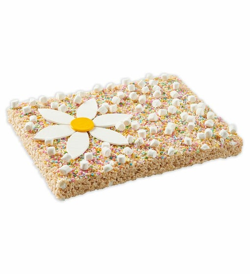Spring Flower Giant Rice Krispie Treat from Treat House