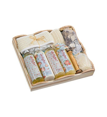 Floral Delight Massage and Reflexology Gift Set