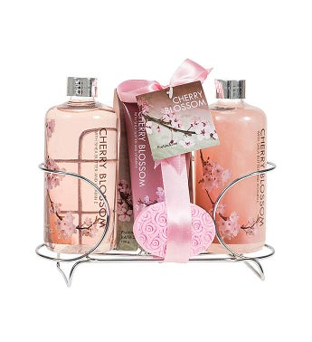 Cherry Blossom Bath and Body Gift Set